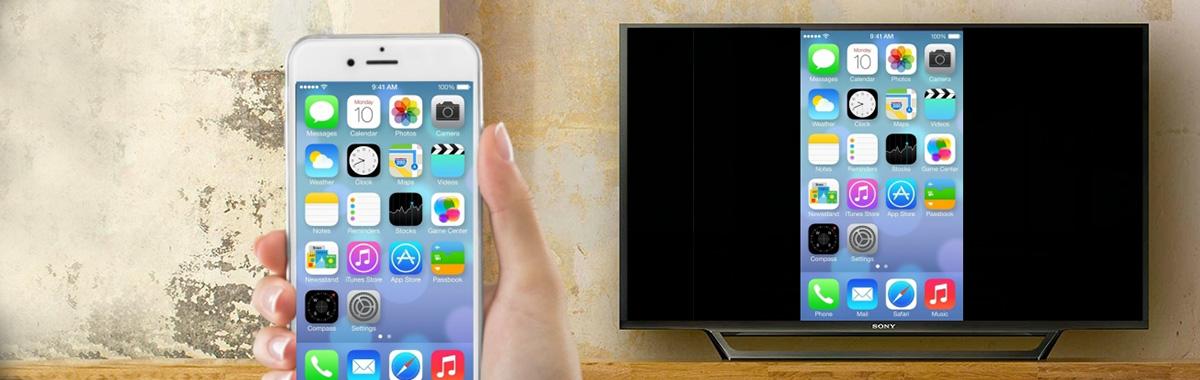 Screen mirroring klonowanie obrazu iphone android