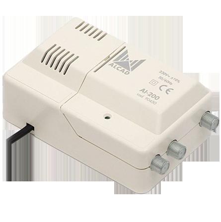 wzm. wielozakresowy ALCAD CA-215 12/230V VHF/UHF
