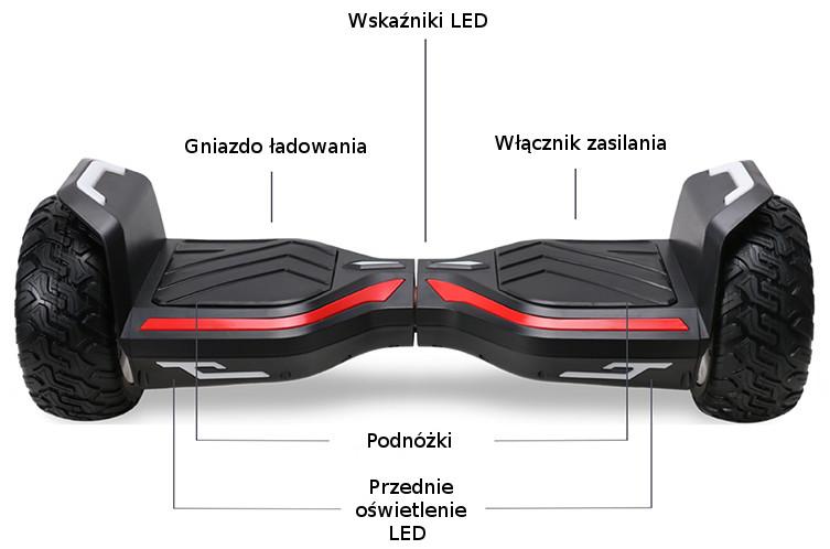 Deskorolka BEBK NSX N8