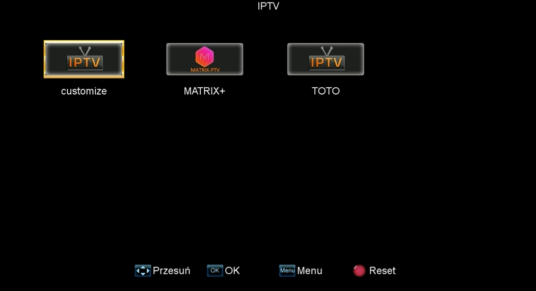 Aplikacje BEST HD75 X322plus