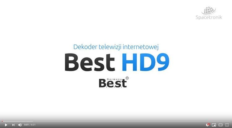 Wideo dekoder telewizji internetowej Best HD9