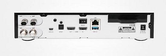 Dreambox DM920 UHD 4K E2 Triple 2x DVB-S2X 1x DVB-C/T2