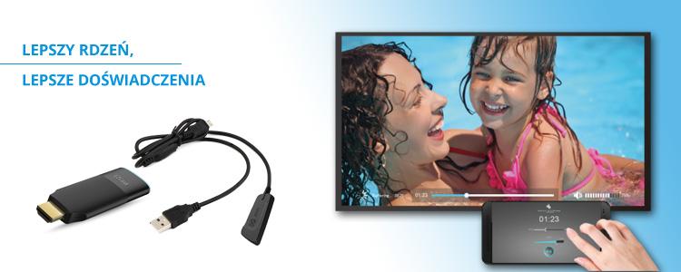 EZCast 2 - bezprzewodowe HDMI
