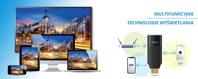 Multimedialny transmiter HDMI EZCast