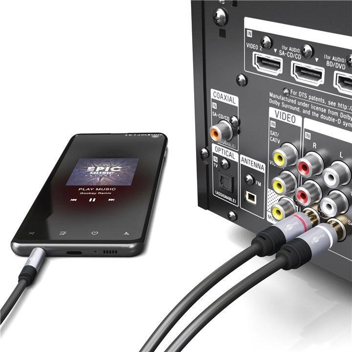audio analogowe jack-rca