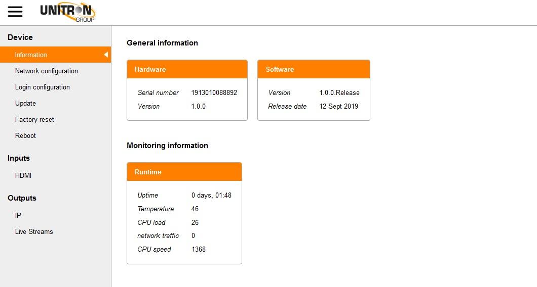 Johansson 8210 IP Streamer HDMI