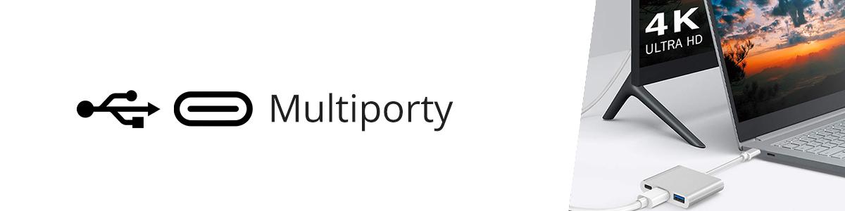 Multiporty i huby