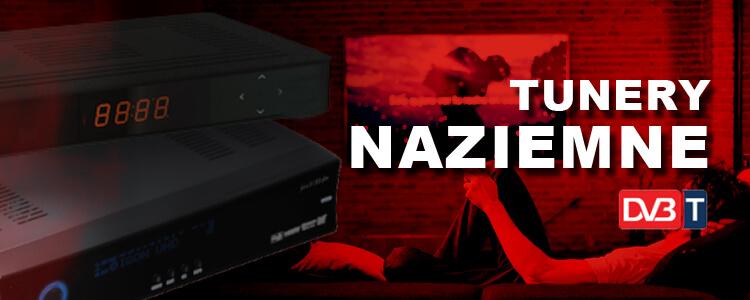 Tunery naziemne, dekodery telewizji naziemnej - sklep internetowy