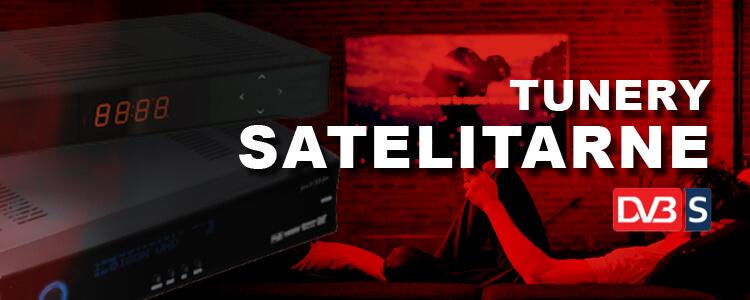Sklep z tunerami satelitarnymi - jaki tuner DVB-S wybrać
