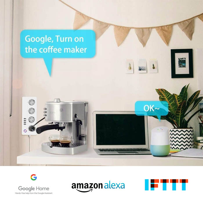 Obsługa google assistant, amazon alexa, ifttt.