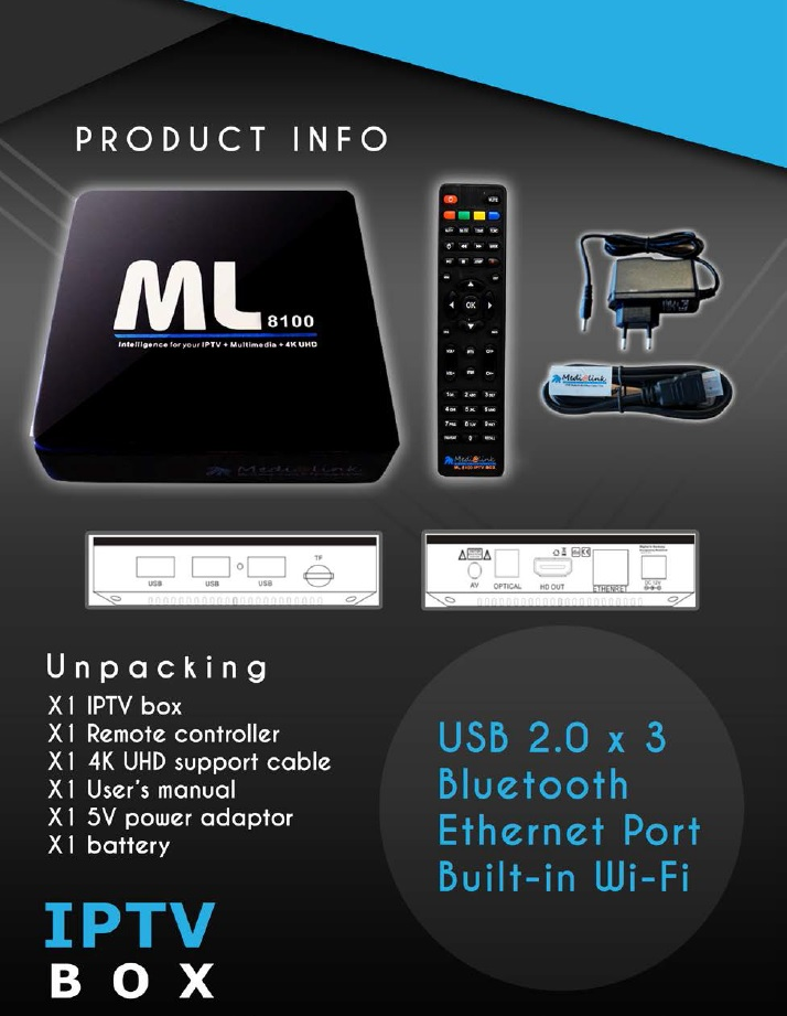 media player ml8100