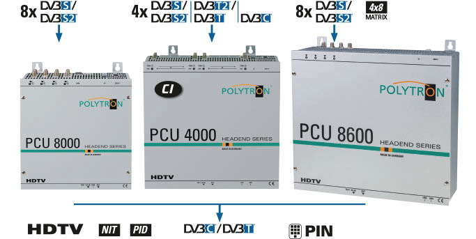 Stacje czołowe Polytron serii PCU
