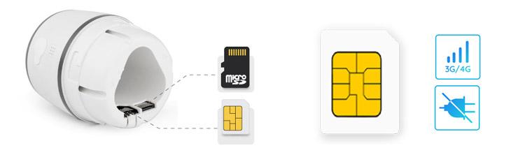 Micro SIM slot