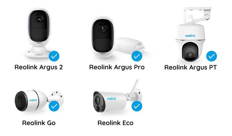 Kamery Reolink kompatybilność