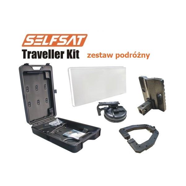 antena zestaw podróżny selfsat traveler kit