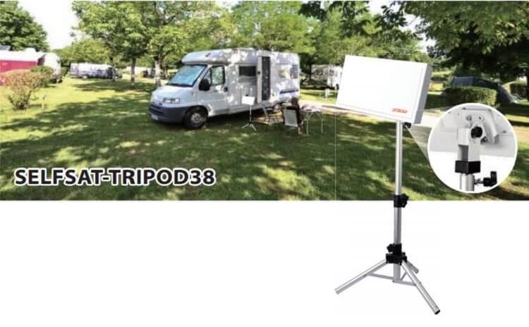 antena panelowa selfsat tripod 38 camp