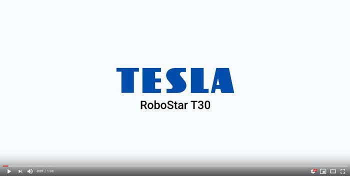 Wideoprezentacja odkurzacza robota TESLA RoboStar T30