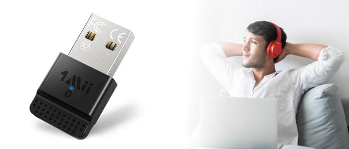 Adapter Bluetooth USB 1Mii B04